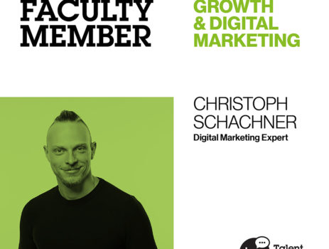 Faculty Stories: Christoph Schachner, Growth Hacker