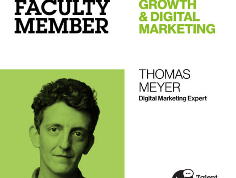 Faculty Stories: Thomas Meyer, CEO and Co-Founder Toman+Meyer