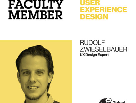 Faculty Stories: Rudi Zwieselbauer, UX Designer