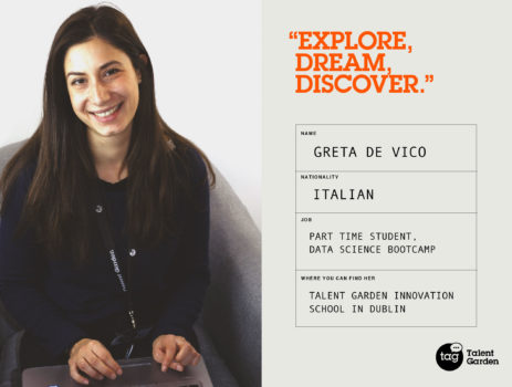 Meet our Community: Greta De Vico, Data Visualisation Bootcamp Student