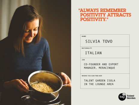 Meet our Community: Silvia Tovo, Co-founder of Meracinque
