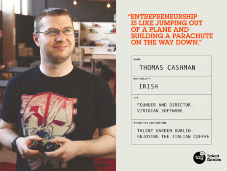 Meet our Community: Thomas Cashman, Founder of Viridian Software