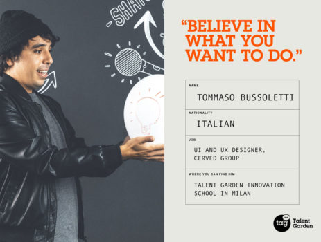 Meet our Community: Tommaso Bussoletti, UI & UX Designer at Cerved Group